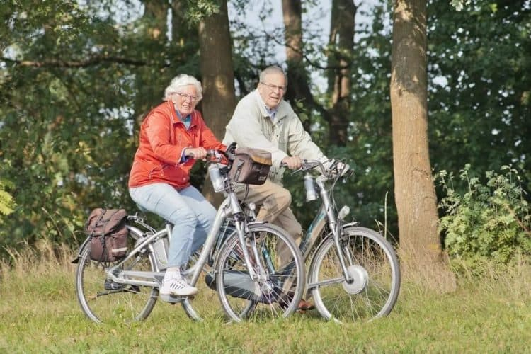 Easy E-Biking - seniors riding e-bikes, helping to make electric biking practical and fun