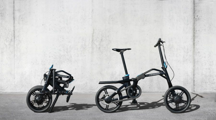 Easy E-Biking - folding Peugeot e-bike, helping to make electric biking practical and fun