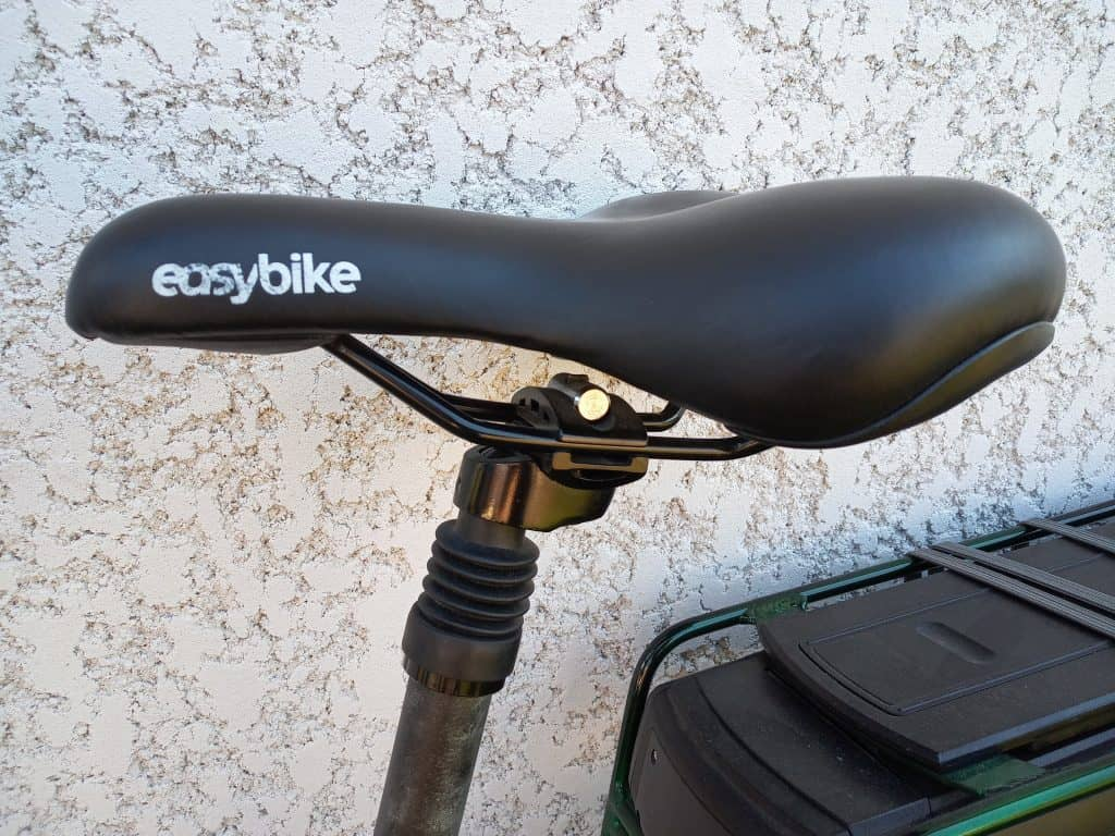 Easy E-Biking - city e-bike saddle, helping to make electric biking practical and fun