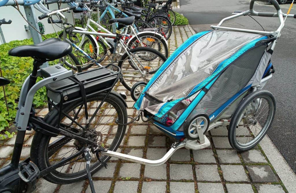 Easy E-Biking - e-bike trailer, helping to make electric biking practical and fun