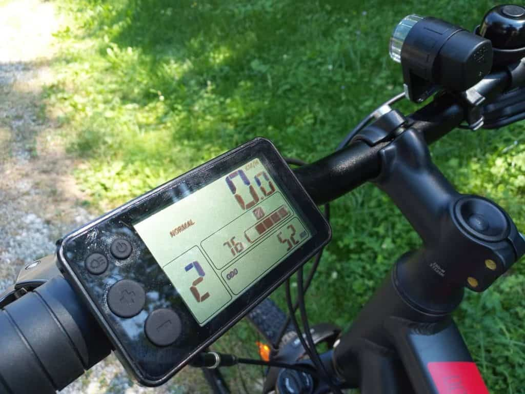 Easy E-Biking - riverside e-bike controls, helping to make electric biking practical and fun