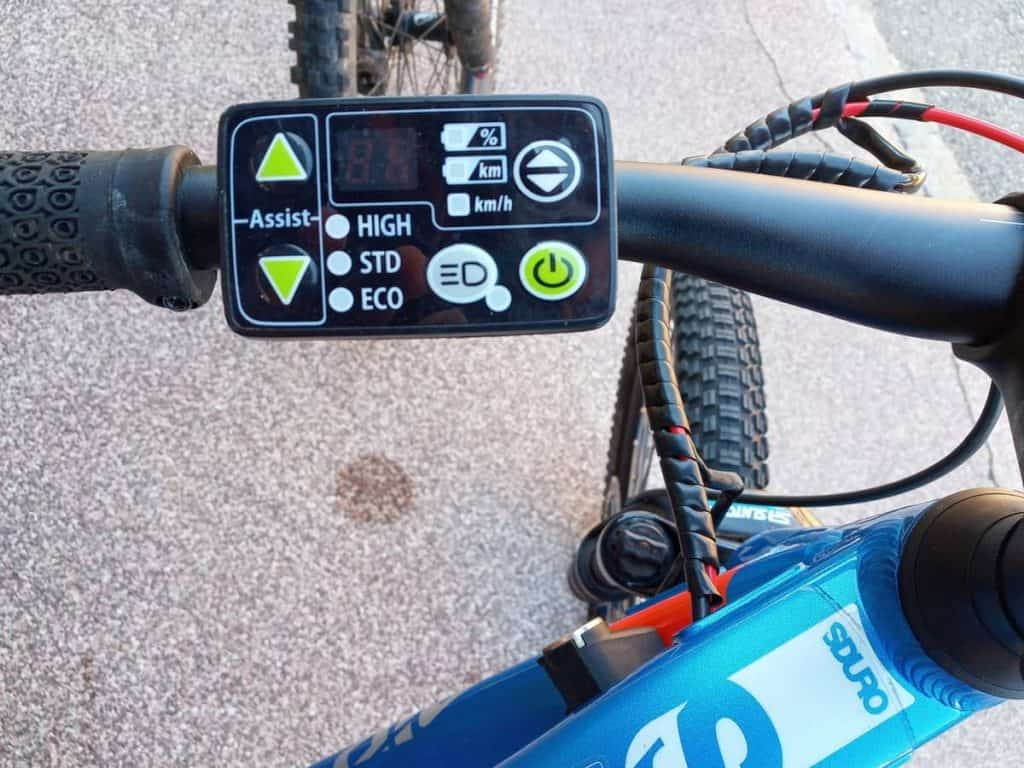 Easy E-Biking - kid's e-bike controls, helping to make electric biking practical and fun