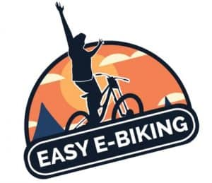 Easy E-Biking - logo easy e-biking, helping to make electric biking practical and fun