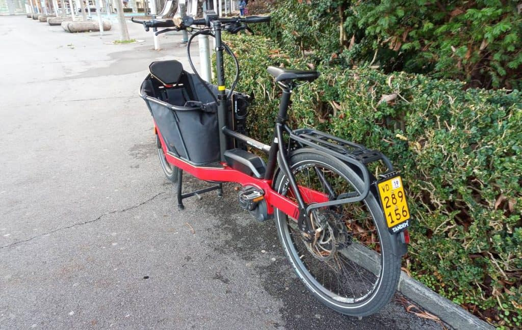 Easy E-Biking - cargo e-bike parked city, helping to make electric biking practical and fun