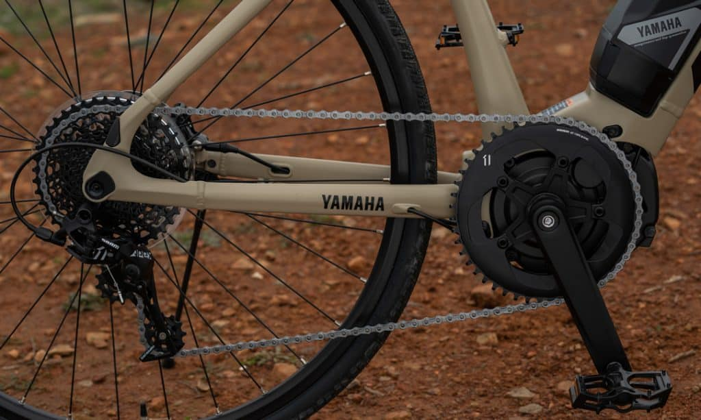 Easy E-Biking - Yamaha Wabash gravel electric bicycle, helping to make electric biking practical and fun
