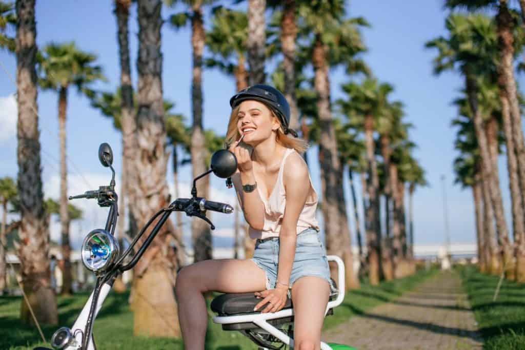 Easy E-Biking - electric bike woman nature, helping to make electric biking practical and fun
