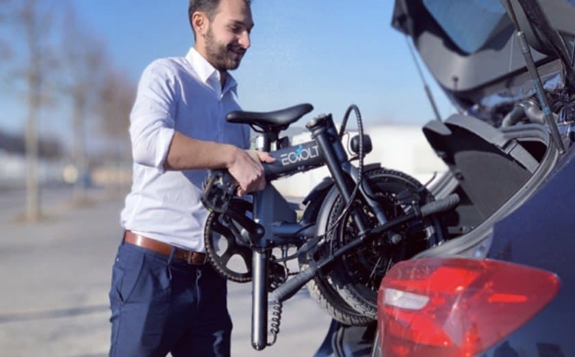 Easy E-Biking - EOVOLT folding e-bike, helping to make electric biking practical and fun