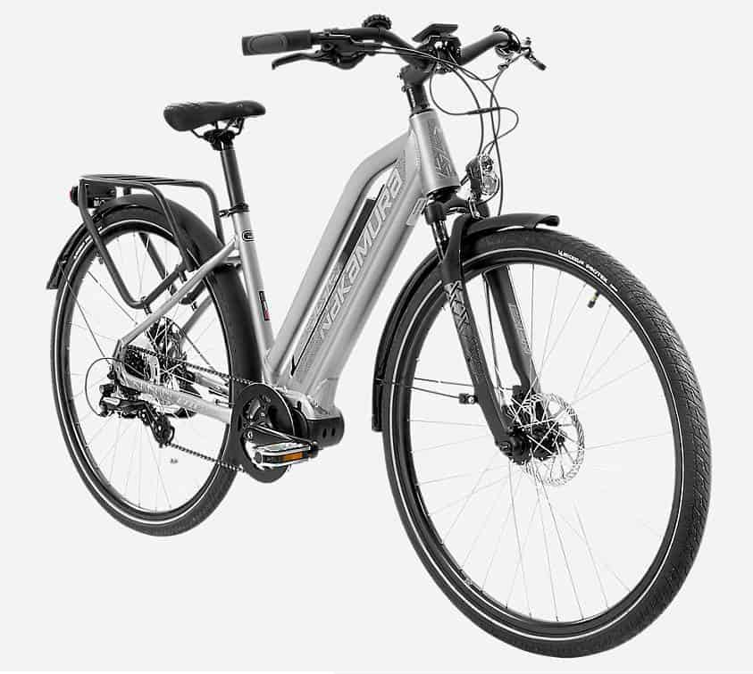 Easy E-Biking - Nakamura E-Fit city e-bike, helping to make electric biking practical and fun