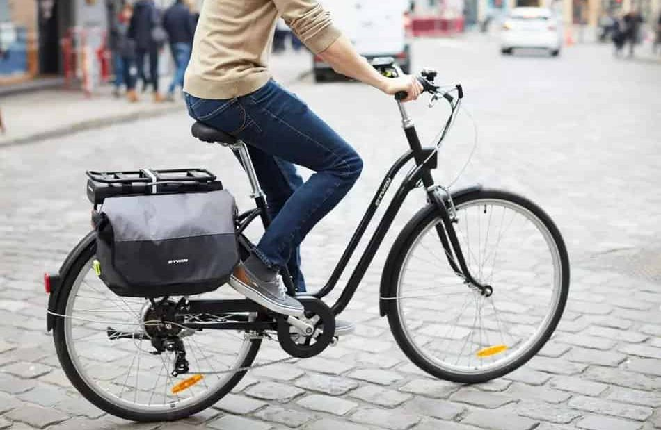 Easy E-Biking - Decathlon ELOPS 500 low frame e-bike, helping to make electric biking practical and fun