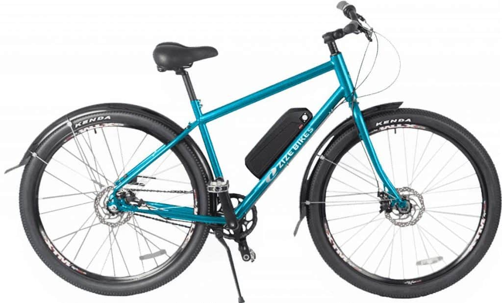 Easy E-Biking - Zize 29er Max e-bike, helping to make electric biking practical and fun