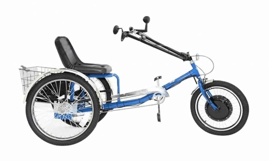Easy E-Biking - Zize Personal Activity Tricycle e-bike, helping to make electric biking practical and fun