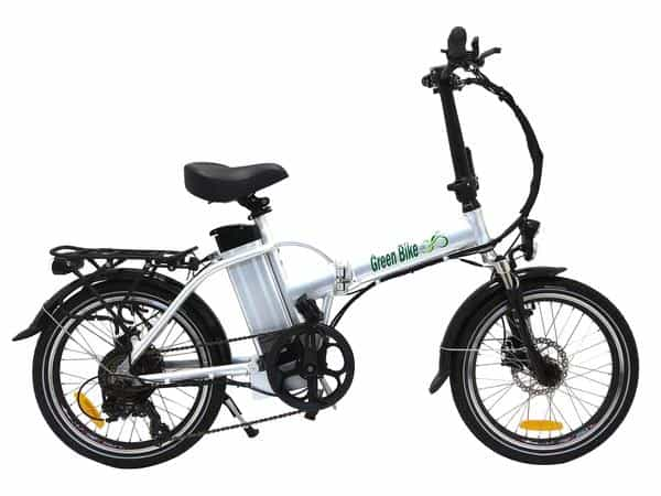 Easy E-Biking - Green Bike USA folding electric bike, helping to make electric biking practical and fun
