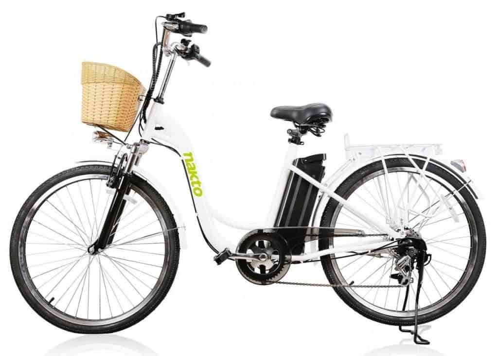 Easy E-Biking - Nakto Camel City Women's electric bike, helping to make electric biking practical and fun