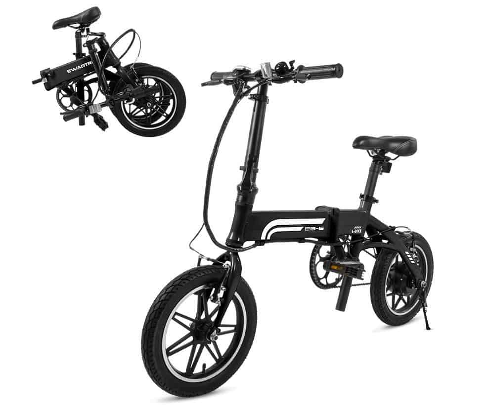 Easy E-Biking - Swagtron foldable electric bike, helping to make electric biking practical and fun