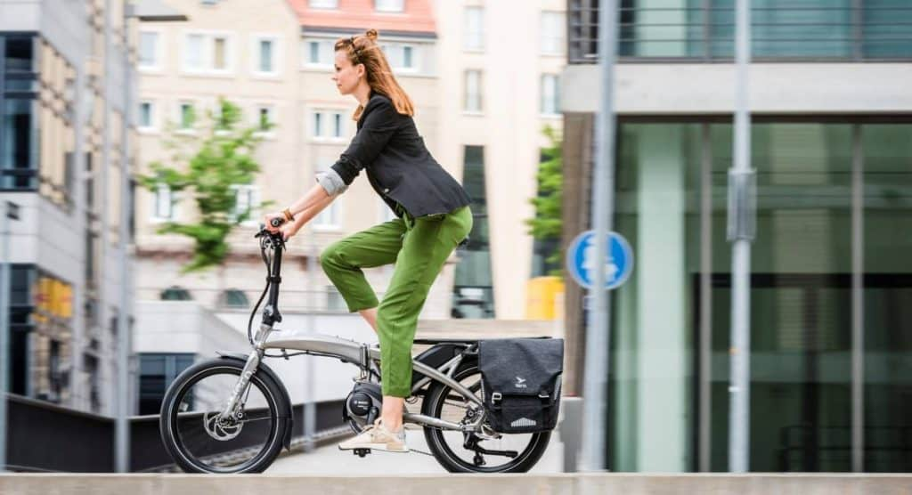 Easy E-Biking - Tern Vektron electric bike, helping to make electric biking practical and fun