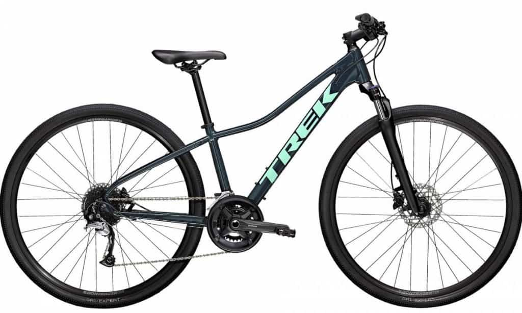 Easy E-Biking - Trek DualSport Women's electric bike, helping to make electric biking practical and fun