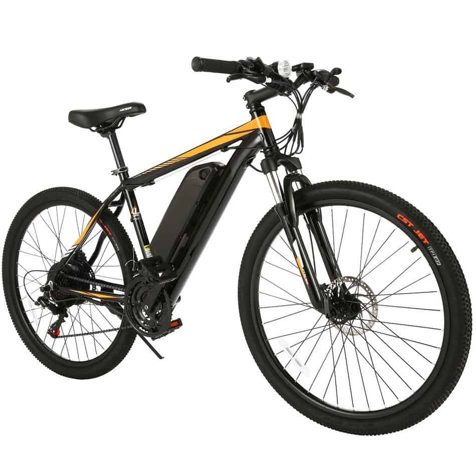 Easy E-Biking - Ancheer eMTB electric bike, helping to make electric biking practical and fun