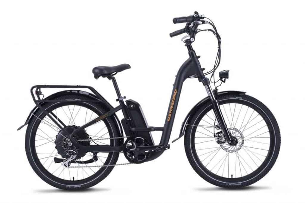 Easy E-Biking - RadPower City Step-Through electric bike, helping to make electric biking practical and fun