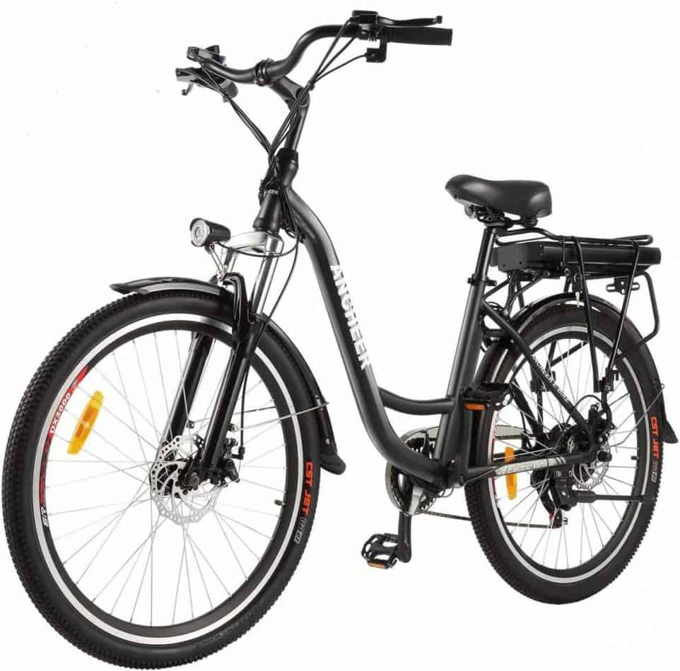 Easy E-Biking - ANCHEER city electric bike, helping to make electric biking practical and fun