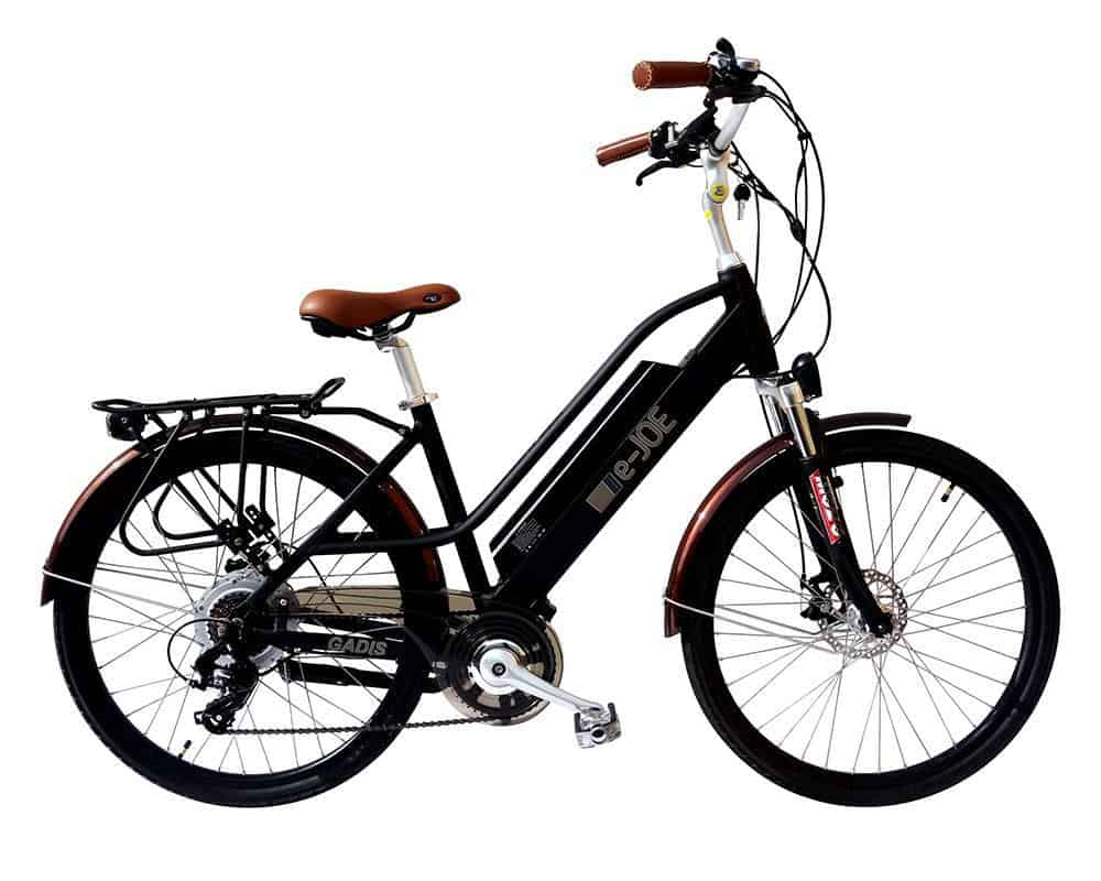 Easy E-Biking - E-Joe Gadis electric bike, helping to make electric biking practical and fun