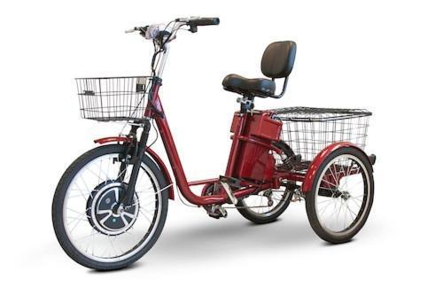 Easy E-Biking - Ewheels EW electric trike, helping to make electric biking practical and fun