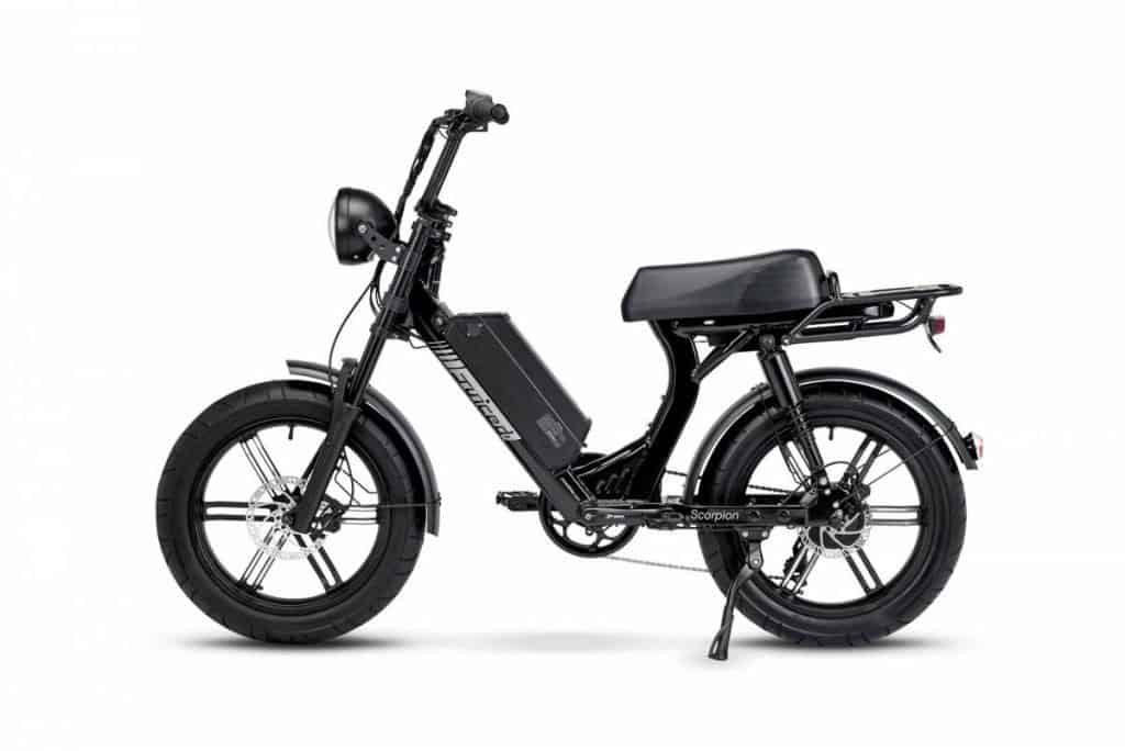 Easy E-Biking - Juiced Scorpion electric bike, helping to make electric biking practical and fun